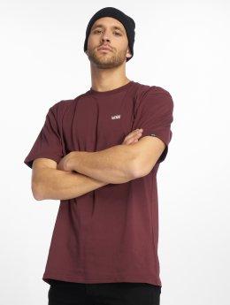 Vans T-shirt Left Chest rosso