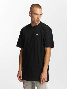 Vans t-shirt Left Chest Logo zwart