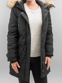 Vero Moda Abrigo vmPolar Arctic 3/4 negro