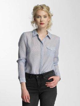 Vero Moda Blouse & Chemise vmBasa Midi Woven bleu