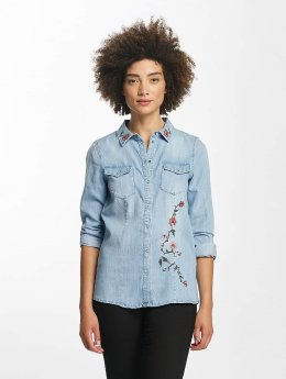Vero Moda Blouse/Tunic vmViola Embroidery blue