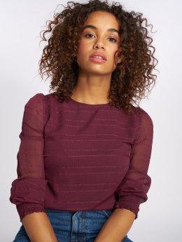 Vero Moda Blouse/Tunic vmFiona Smock Blouse red