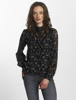 Vero Moda vmRose Lace Shirt Black/Rose Print Black