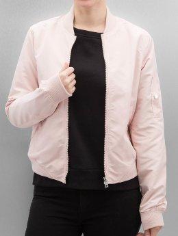 Vero Moda Bomberová bunda cmDicte Spring ružová