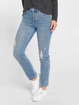 Vero Moda Boyfriend Jeans vmIvy modrý