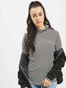 Vero Moda Camiseta de manga larga vmVita Stripe negro