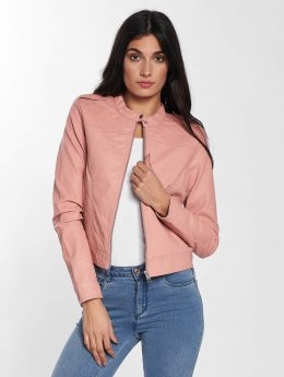 Vero Moda Chaqueta de cuero vmAlice Short Faux Leather rosa