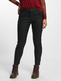 Vero Moda Chinot/Kangashousut Antifit Coated musta