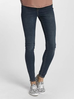 Vero Moda dżinsy przylegające vmSeven Super Slim niebieski