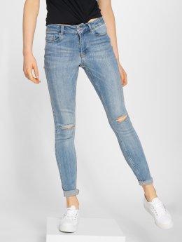 Vero Moda dżinsy przylegające vmSeven AM306 niebieski