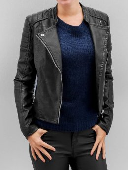 Vero Moda Leather Jacket vmShandy black