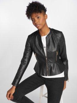 Vero Moda Leather Jacket vmEllis Butter black