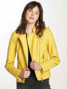 Vero Moda Leather Jacket vmKerry yellow