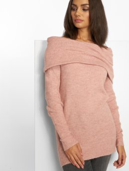 Vero Moda Maglia vmAgoura Off Shoulder rosa chiaro