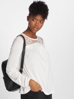 Vero Moda Maglietta a manica lunga vmViona bianco