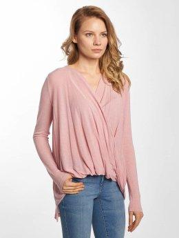 Vero Moda Maglietta a manica lunga vmLuna rosa chiaro
