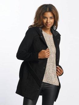 Vero Moda Frauen Mantel vmMelena in schwarz