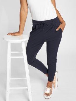 Vero Moda Pantalon chino vmEva Loose String bleu