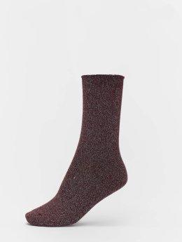 Vero Moda Ponožky vmGlitter  červený