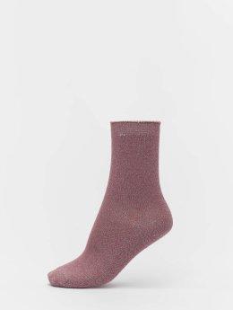 Vero Moda Ponožky vmGlitter  růžový