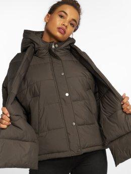 Vero Moda Puffer Jacket vmScarf grau