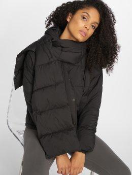 Vero Moda Puffer Jacket vmScarf Short schwarz