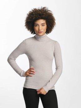Vero Moda Pullover vmHappy Rollneck grau