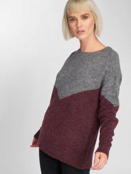 Vero Moda Pullover vmJuta Ginger grau