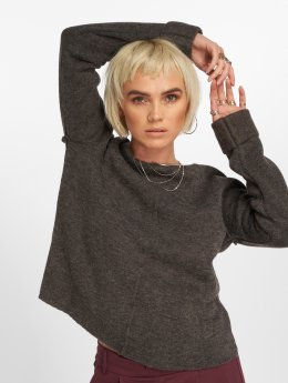 Vero Moda Pullover vmYlda Boxy grau