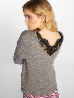 Vero Moda Pullover vmBuena Lena grau