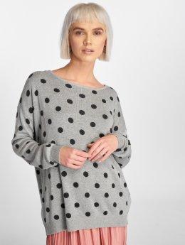 Vero Moda Pullover vmDotty grau