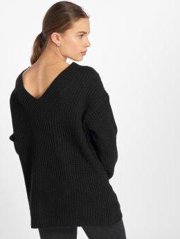 Vero Moda Pullover vmGlendora New Deep Back schwarz