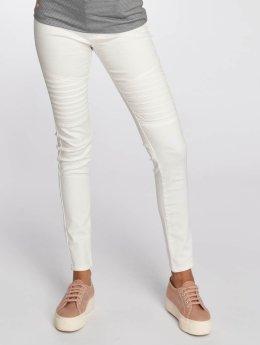 Vero Moda Skinny Jeans vmHot bialy