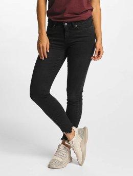 Vero Moda Skinny Jeans vmSeven Hem black