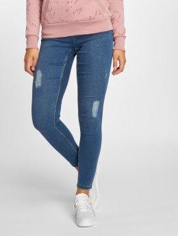 Vero Moda Skinny Jeans vmTeresa Destroyed blau