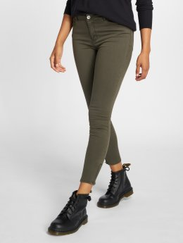 Vero Moda Skinny Jeans vmSeven Shape grün
