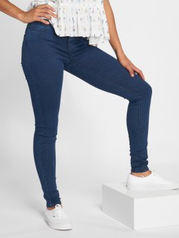 Vero Moda Skinny Jeans vmJulia Flex It niebieski