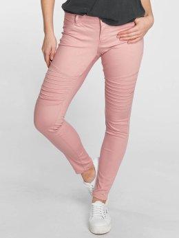 Vero Moda Skinny Jeans vmHot rózowy
