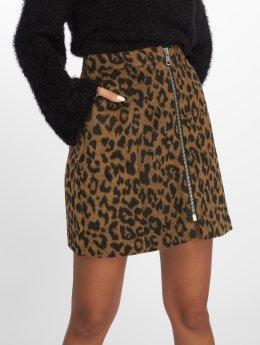 Vero Moda Skjørt vmJana Leopard brun