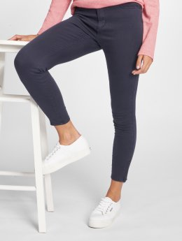 Vero Moda Slim Fit Jeans vmSeven Shape blå
