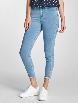Vero Moda Frauen Slim Fit Jeans vmNine in blau