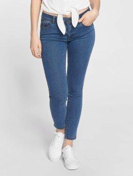 Vero Moda Slim Fit Jeans vmHot modrá