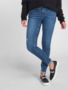 Vero Moda Slim Fit Jeans vmSeven A315 modrá
