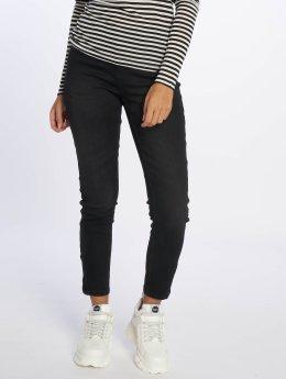 Vero Moda Slim Fit Jeans vmSeven Ankle schwarz