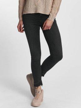 Vero Moda vmSeven Fold Down Ankle Jeans Black