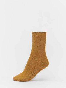 Vero Moda Socks vmGlitter gold colored