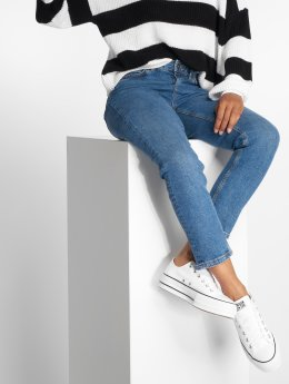 Vero Moda Straight Fit Jeans vmAnna blau