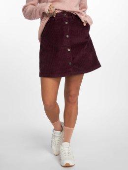 Vero Moda Sukně vmClea A-Shape Corduroy  červený