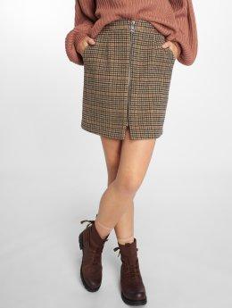 Vero Moda Sukně vmJana Royal hnědý