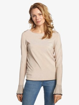 Vero Moda Swetry vmChelsey bezowy